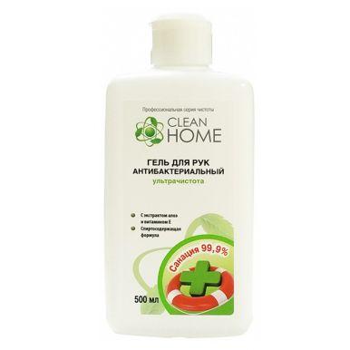 Clean Home Антибактериальный  гель д/рук  ультрочистота 500 мл