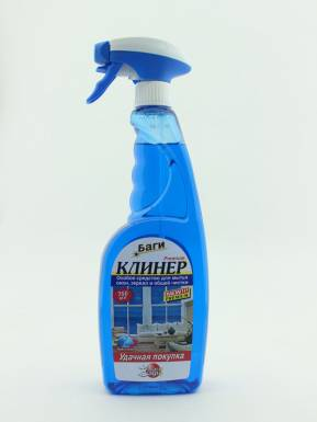 BAGI Клинер-спрей д/чистки поверхности 750мл 395125