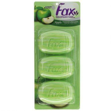 FAX мыло туалетное 3х115гр Яблоко