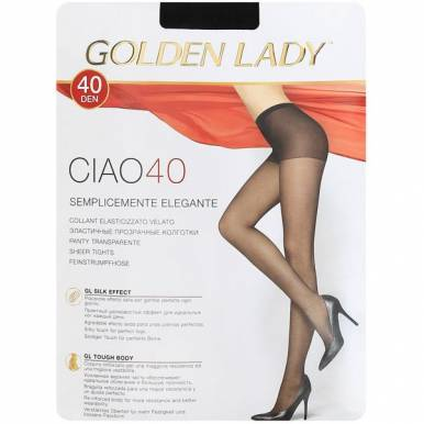 Golden Lady колготки CIAO 40 р. 2 цвет NERO