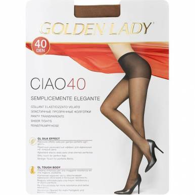 Golden Lady колготки CIAO 40 р. 3 цвет DAINO