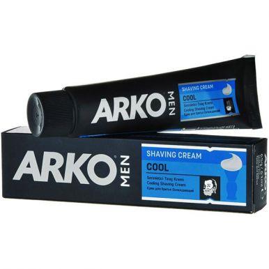 ARKO Крем д/бритья Cool 65мл голубой/9600