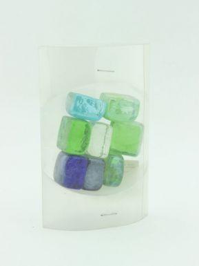 """597-013 Камни декоративные """"Кубики льда"""" крупные, пластик, 200гр"""