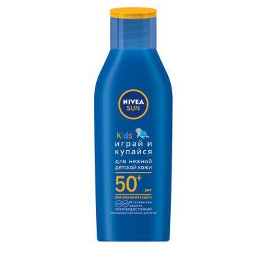 Nivea SUN солнцезащитный лосьон для детей Играй и купайся СЗФ 50 +, 50 мл
