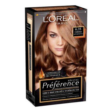 Preference Recital краска для волос, тон 6,35 Гавана, цвет: светлый янтарь