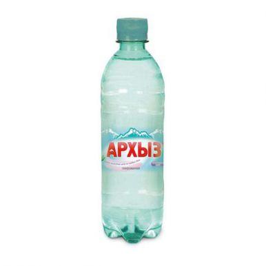 Архыз Вода минеральная, газированная, 0,5 л